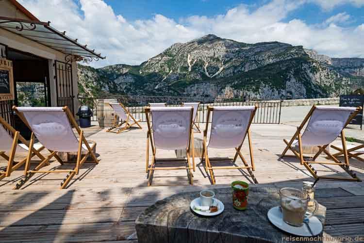 Kaffee mit Panoramablick