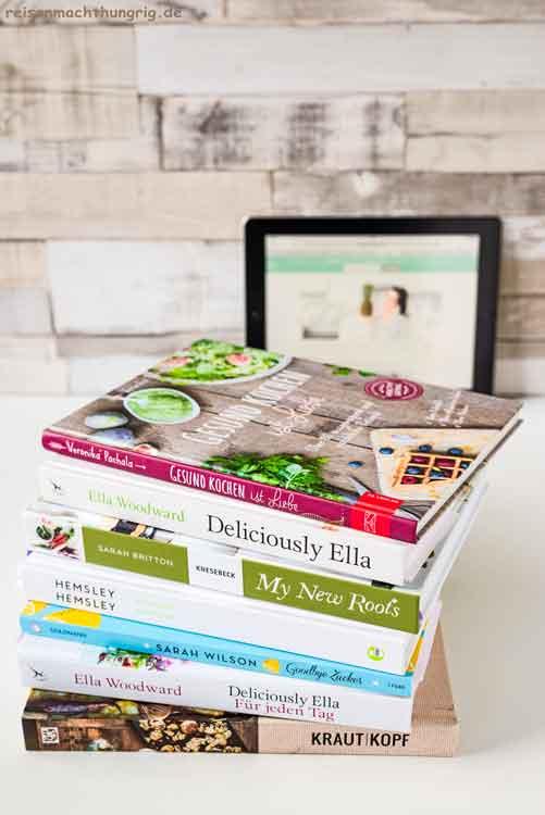 Ernährungsinfos - Auswahl an Kochbüchern