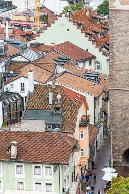 Über den Dächern von Meran