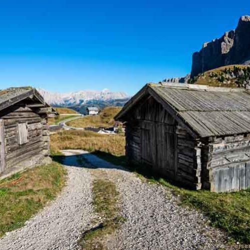 Die 6-Pässe-Tour - Dolomiten