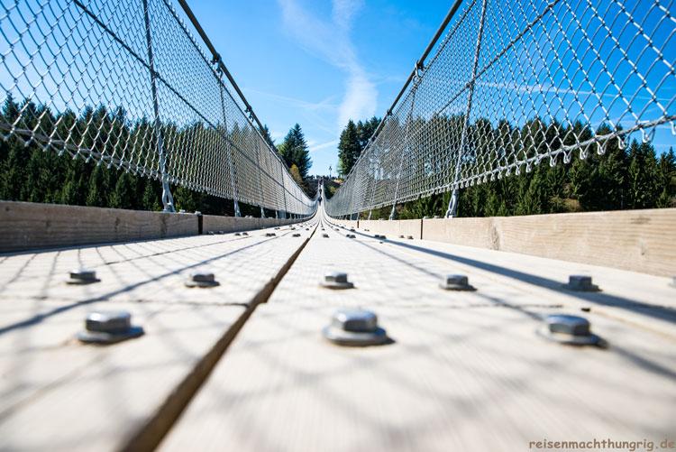 Nahaufnahme Geierlaybrücke