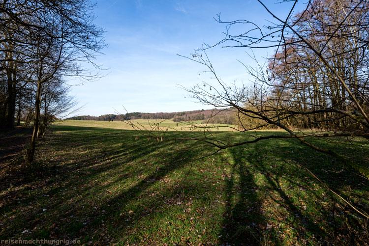 Auf dem A1 Wanderweg um die Holsteins-Mühle