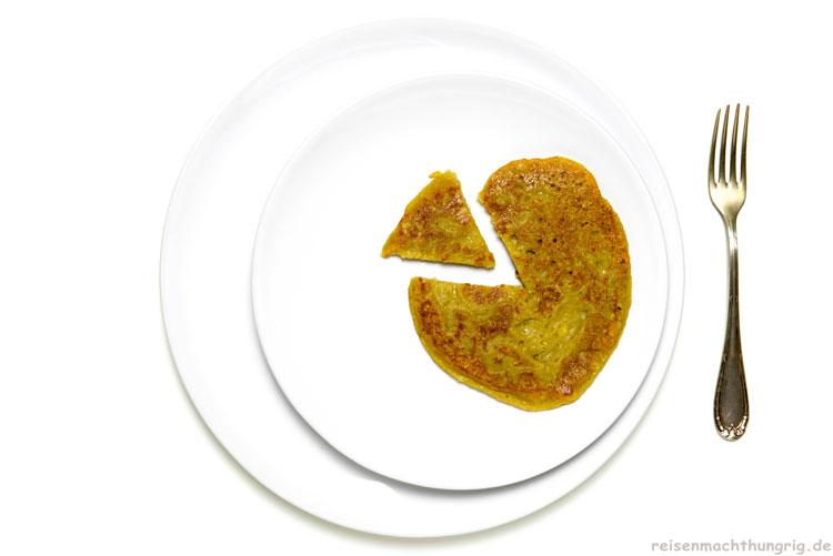 Kochbananen-Pancakes