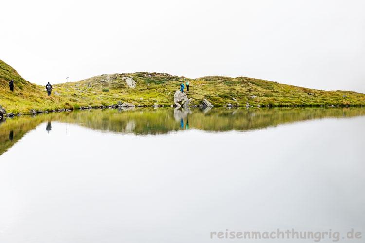Hochjoch im Nebel/Herzsee