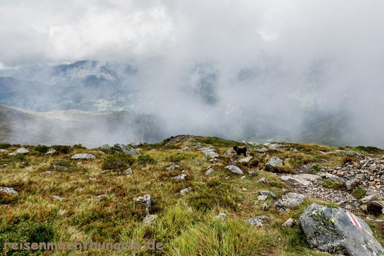 Hochjoch im Nebel
