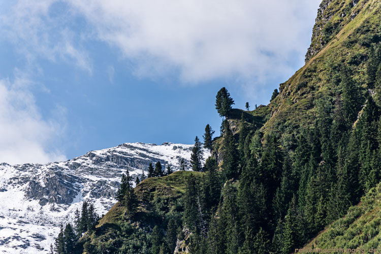 Vom Golf ins Garneratal, Bergblick
