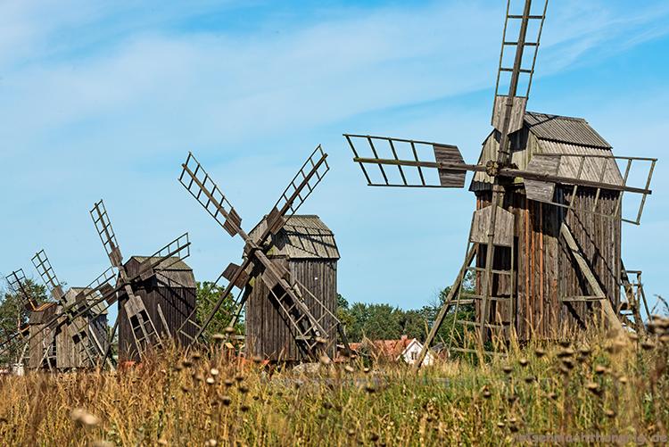Lerkaka Windmühlen